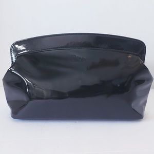 Dior Black Patent Make up Bag